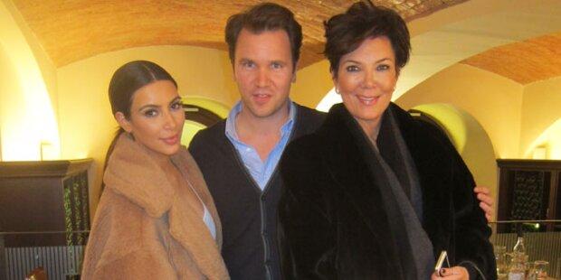 Kim Kardashian: Schnitzel & Apfelstrudel