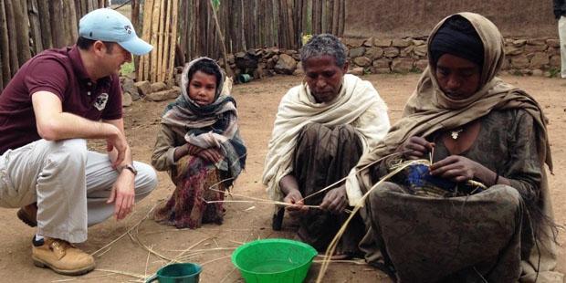 In Afrika – wie hier in Äthiopien – sichert Landwirtschaft das Überleben der Menschen.