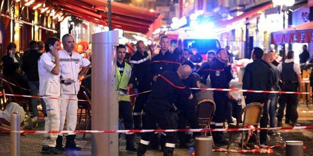 Massenpanik in Nizza: Mehrere Verletzte
