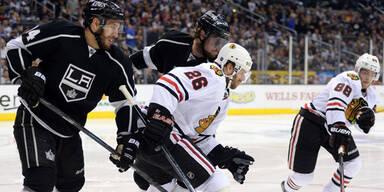Kings verkürzen gegen Blackhawks