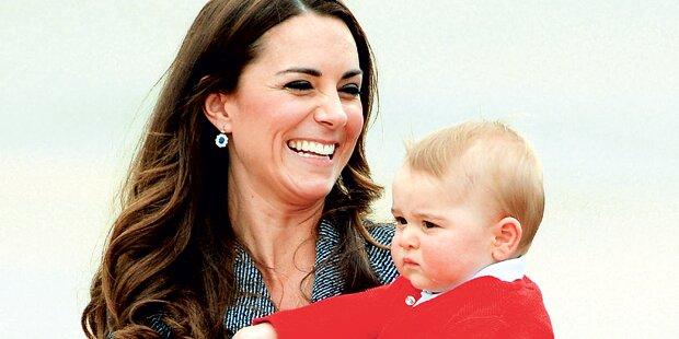 Kate und Will: Bereit für die Geburt