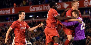 Liverpool gewinnt historischen Elferkrimi