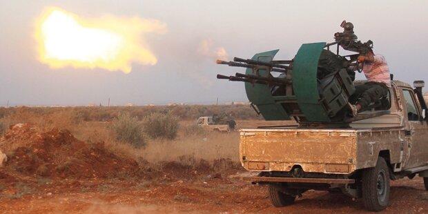Assad-Truppen & Putins Bluthunde gegen Rebellen