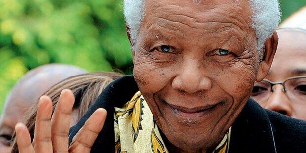 Mandela ist zu Hause