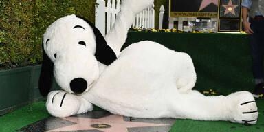 """Snoopy erhielt Stern am Hollywood """"Walk of Fame"""""""
