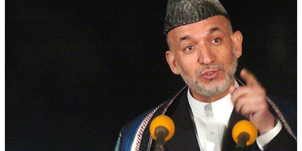 Karzai brach Rede aus Angst vor Anschlag ab
