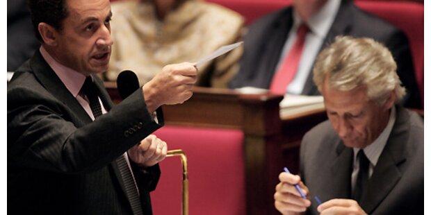 Unterstützung für Sarkozy bröckelt