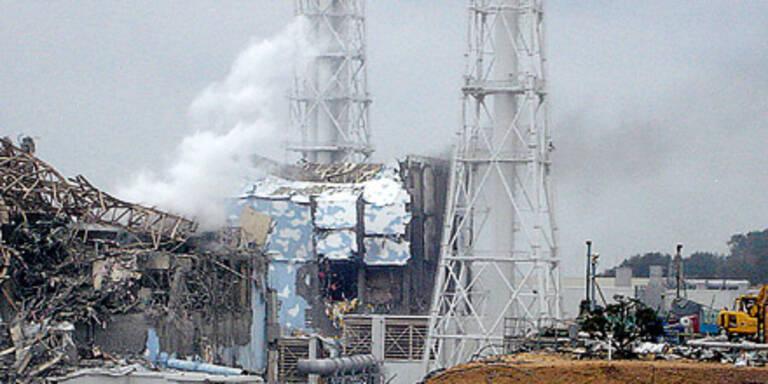 Die Reaktor-Ruine von Fukushima