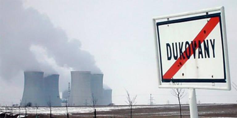 Das südmährische AKW Dukovany.