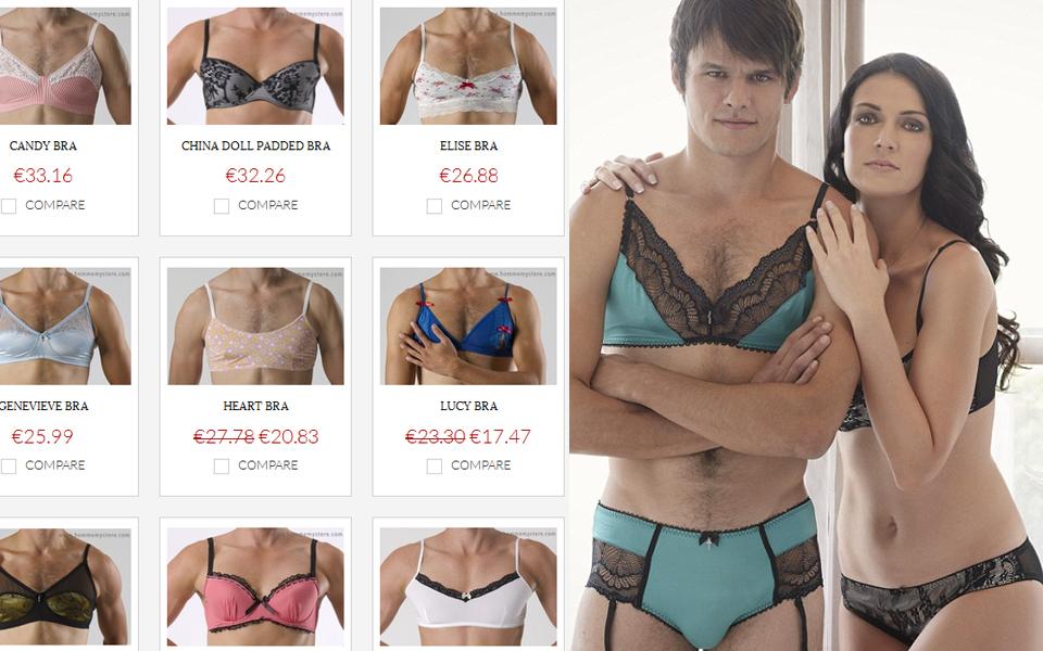 Immer mehr Männer wollen sexy Dessous