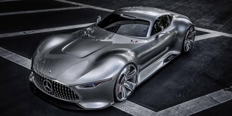 Mercedes lässt Video-Spiel Auto real werden