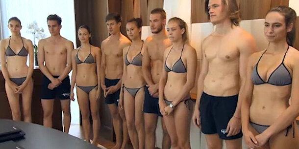 Nackt austria shooting topmodel next Germanys next