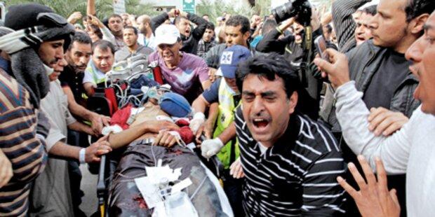 Revolte in Bahrain und Libyen