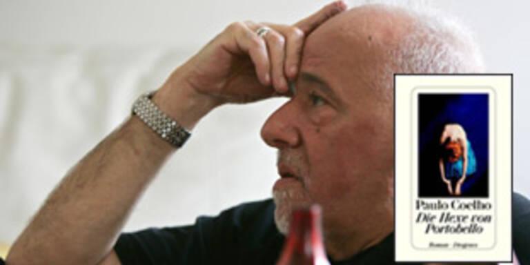"""Schon 150.000 Exemplare verkauft: Paulo Coelho und sein Roman """"Die Hexe von Portobello"""""""