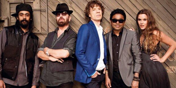 Jagger-Band stürmt auf Platz 1