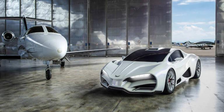 Der österreichische Supersportwagen Milan ist im Anflug