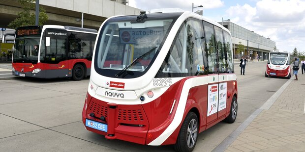 Nach Unfall: Wiener Linien stoppen fahrerloses Bus-Projekt