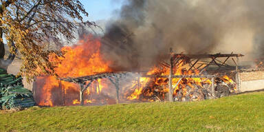 Bauernhof Melk Brand Hürm