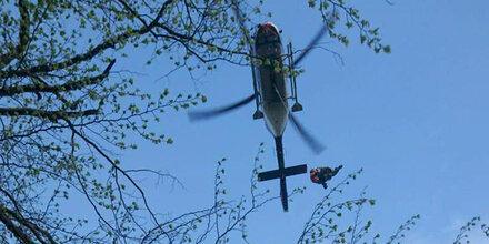 Kärntner Bergretter bargen verletzte Bergwanderin in Friaul