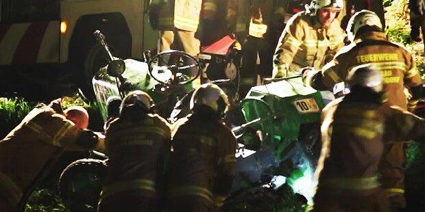 Bub (5) starb bei Unfall mit Papas Traktor