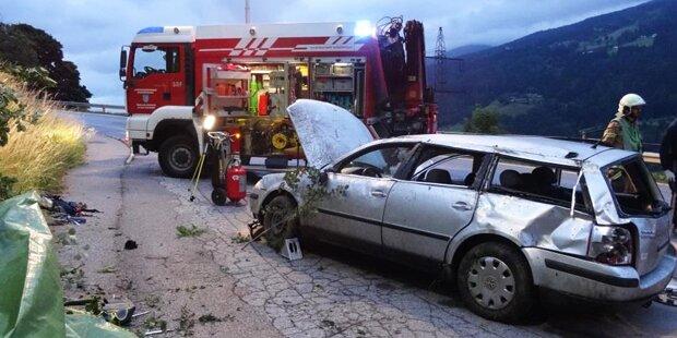 23-Jähriger starb nach schwerem Crash mit überfülltem Kombi