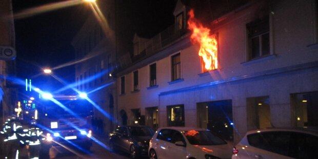 86-Jähriger bei Brand in Graz verletzt