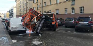 Streufahrzeug Unfall Wien