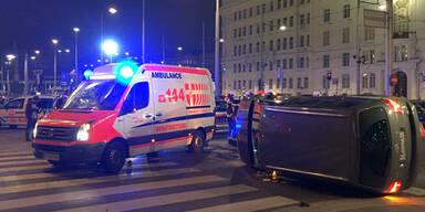 Horror-Crash am Schwarzenbergplatz