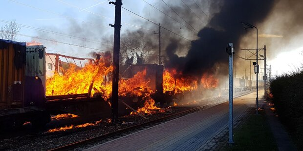 Südbahn nach Zug-Brand weiter gesperrt