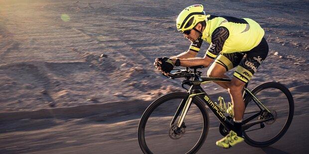 Austro-Radler stellt Weltrekord auf