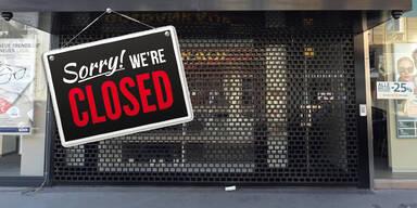 Wien Laden dicht Geschäfte zu