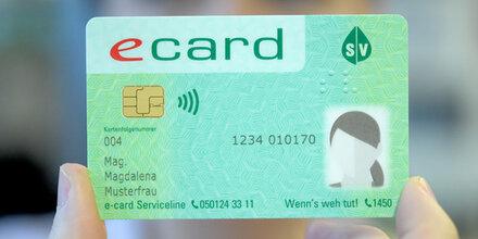 Überraschung: Die neue e-Card ist da