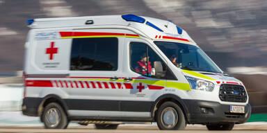 Pkw kollidierte in NÖ mit Traktorgespann: Drei Verletzte