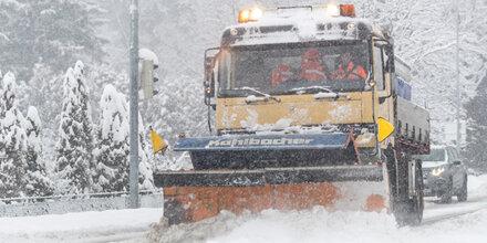 Achtung vor Neuschnee auf den Dächern!