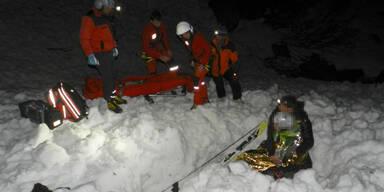 Lawinenopfer überlebte 10 Stunden im Schnee