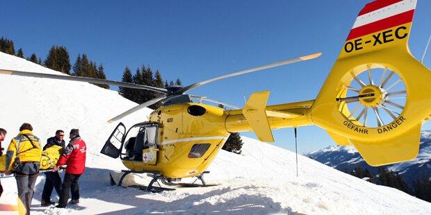 Urlauberin krachte in Skifahrergruppe