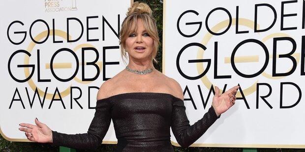 Goldie Hawn: Keine Interviews vor Ball