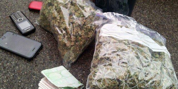 Polizei stoppte Pkw mit 200 Gramm Marihuana