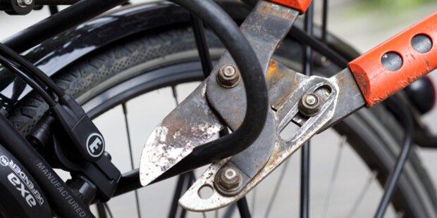 Zahl der Fahrrad-Diebstähle gestiegen