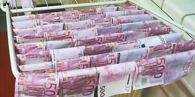 120.000 Euro aus der Donau gehören Wien