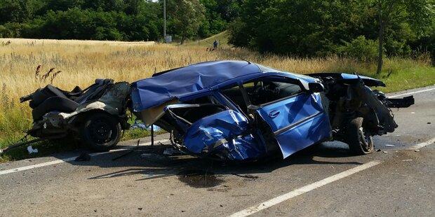 Niederösterreicher bei Pkw-Crash getötet