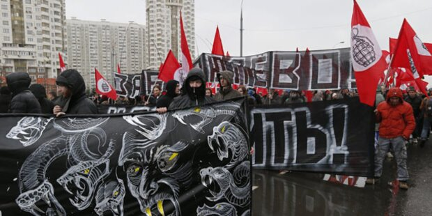 Ultranationalisten: Marsch gegen Ausländer