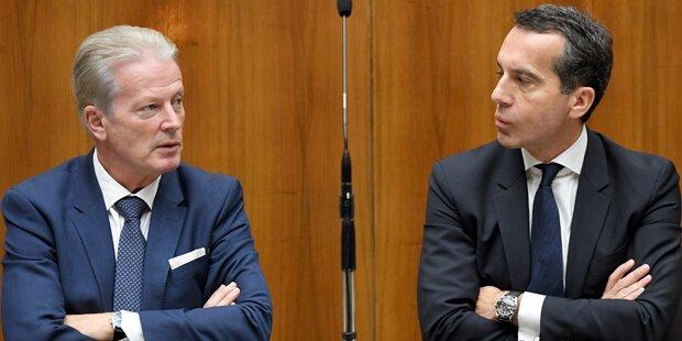 Nach Watschen-Duell bei Budget sind Neuwahlen fix