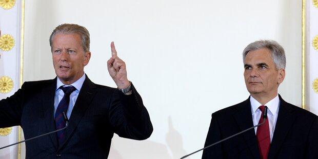 Zweier-Gipfel soll Koalition retten