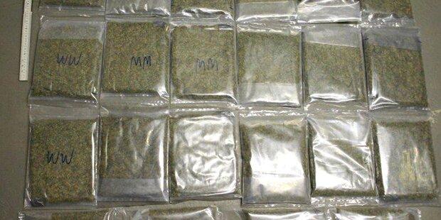 17 Drogendealer von Polizei gefasst