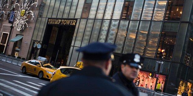 Messer-Mann im Trump Tower festgenommen