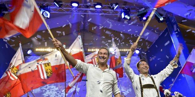 FPÖ setzt im Finale auf Thema