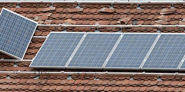 Unbekannte Täter stahlen 273 Solarpaneele
