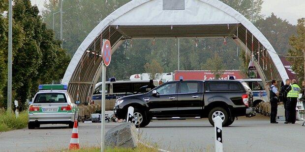 Sprengstoffverdacht löste Großeinsatz an Grenze in Bayern aus