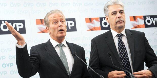 Steuerstreit: ÖVP-Geheimgipfel